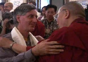 Wayne Teasdale and the Dalai Lama